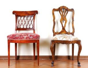 Antique chairs look beautiful in any room