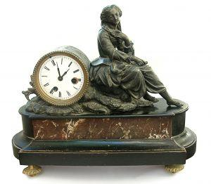 How to identify old mantel clocks