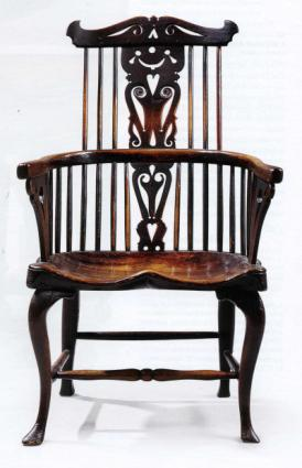 Early Windsor chair