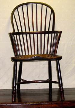 What to Look For. A stick back Windsor chairSource  sc 1 st  LoveToKnow Antiques & Antique Windsor Chairs