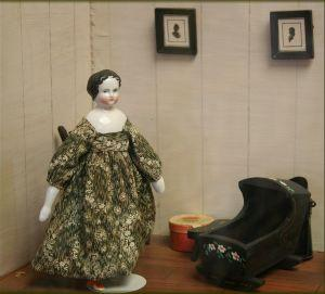 Antique Victorian porcelain doll
