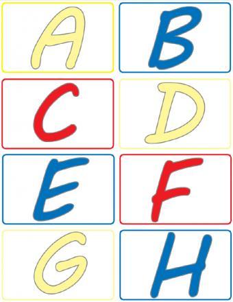 letter cards