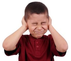 Heightened sensitivity to noise
