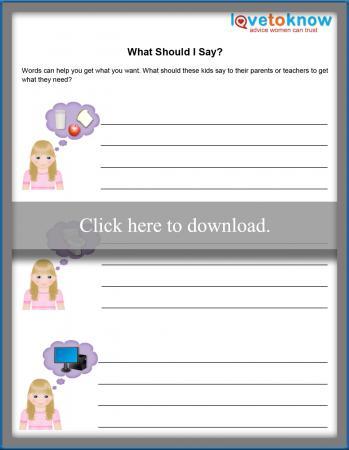 What Should I Say? Printable PDF