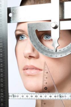 Measuring face symmetry