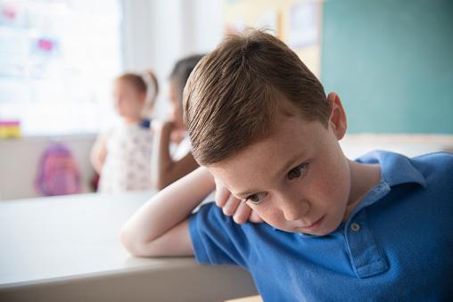 Unsociable child