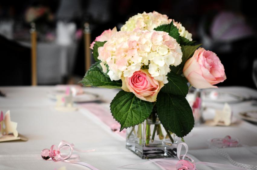 Pink Flower Baby Shower Centerpieces Flowers Healthy