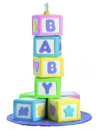 Pictures of Wilton Baby Shower Cakes