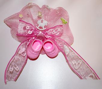 baby booty baby shower corsage