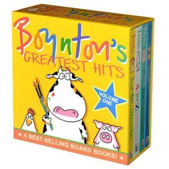 Boynton's Greatest Hits, Vol. 1 - Boynton Board Books