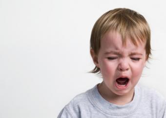 Crying Grumpy Toddler
