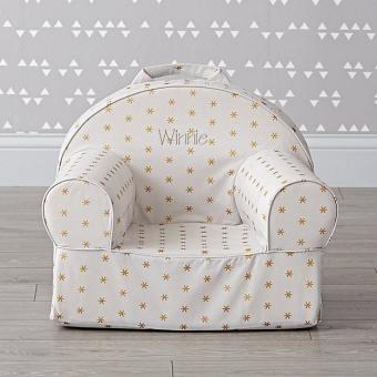 Small Personalized Sparkle Nod Chair at Land of Nod