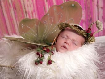 Irish Fairy Princess Baby