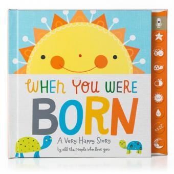Hallmark Baby When You Were Born Press & Play Recordable Memory Book