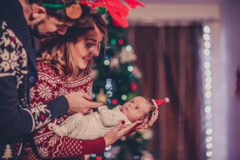 Creative Ideas to Celebrate Baby's First Christmas