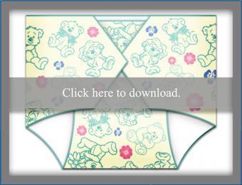 generic diaper invite template
