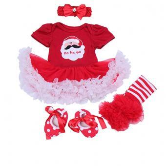 First Christmas Santa Costume