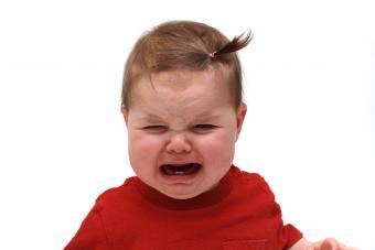 angry baby girl