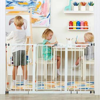 Regalo 56-Inch Extra WideSpan Walk Through Baby Gate