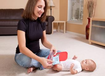 Mother With Baby Sorting Coupons