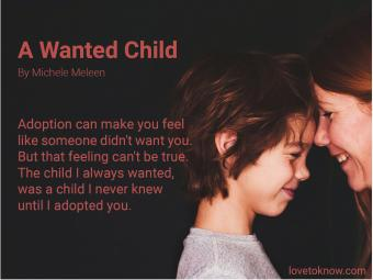 Adoption Poems: A wanted child
