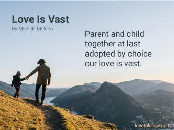Adoption Poems: Love Is Vast