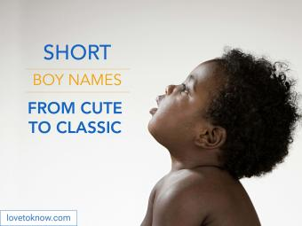 Short boy names from cute to classic