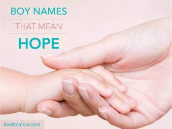 Baby boy names that mean hope