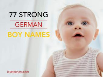 Strong german boy names