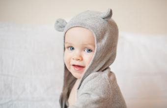 boy wearing a hooded top