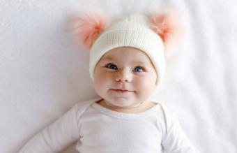 Cute adorable baby child