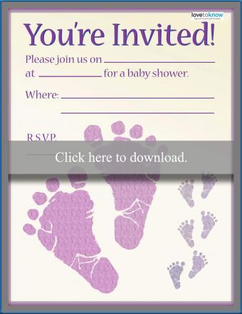 baby shower invitation 4