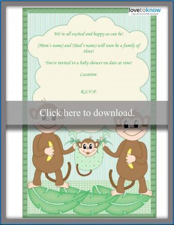 family poem baby shower invitation