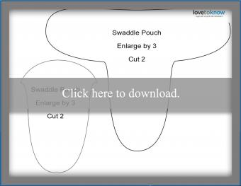 swaddle pouch pattern