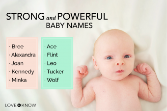 Strong and powerful baby names