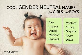Cool gender neutral baby names