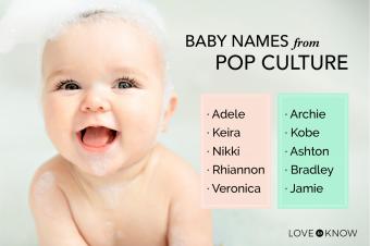 Pop culture baby names