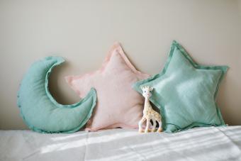 Decorative baby cushions