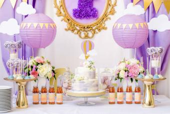 Lovely Lavender Baby Shower