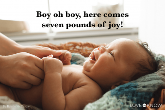 Baby Shower Sayings for Boy