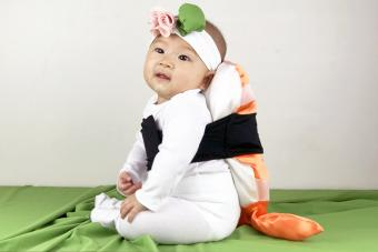 Shrimp Sushi Costume for Baby