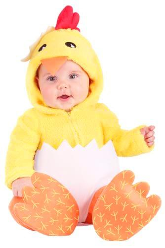 Hatching Chicken Costume for Infants