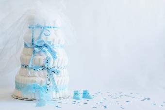 How to Make a Cute & Easy Diaper Cake