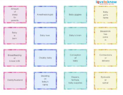 Candy Match Game Cards