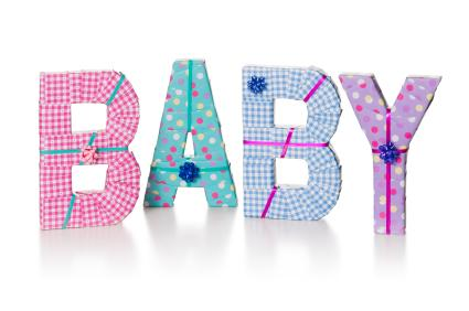 161950-425x282-Baby-letters Foam Baby Shower Ideas