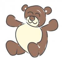 bear baby clip art