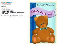 baby milestones book