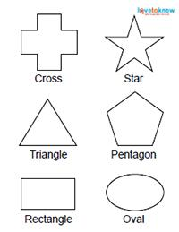 labeled shapes for toddlers