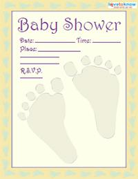 baby shower invitation 2