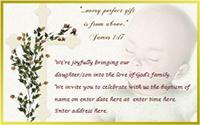 Baptism invitation 6